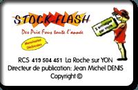 Stock Flash portail et cloture PVC