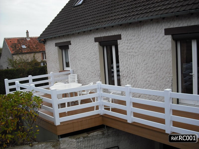 R alisations clients - Balustrade pvc leroy merlin ...