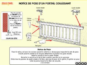 Notice de pose portail coulissant