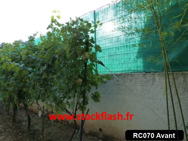 clôture avant travaux