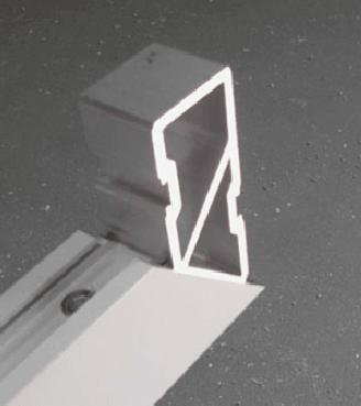 Equerre d'assemblage cadre aluminium