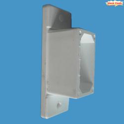Manchon PVC pour raccorder tube aluminium 50 x 30