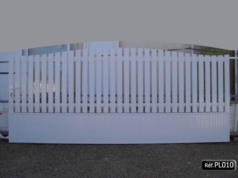 Barrière coulissant PVC