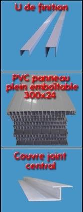 Panneau occultant PVC