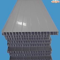 Panneau occultant PVC emboitable pour portail claustra