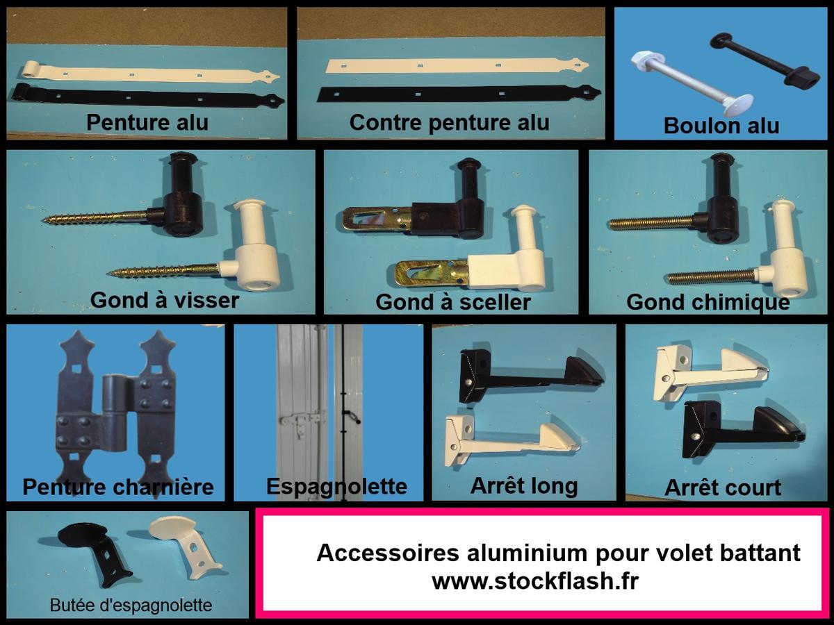 Volets en PVC