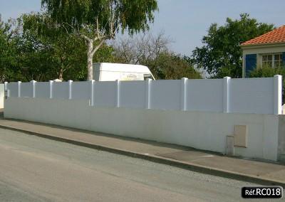 Claustra PVC occultant