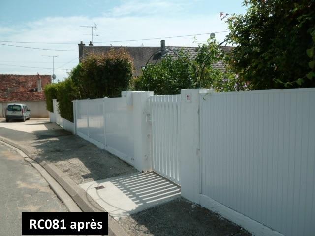 Rénovation clôture de jardin