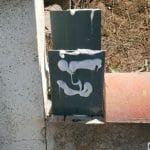 Embase poteau de clôture