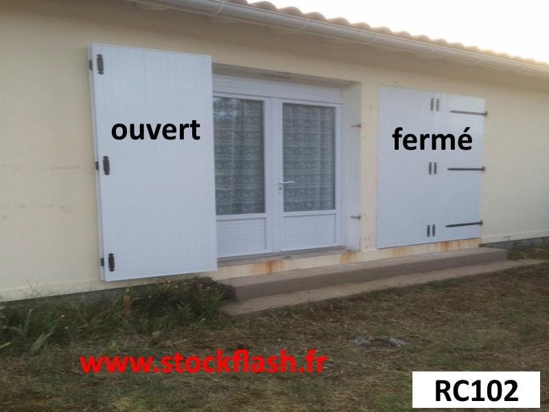 Volet PVC en KIT mesure à vos dimensions pour fenêtre ou porte