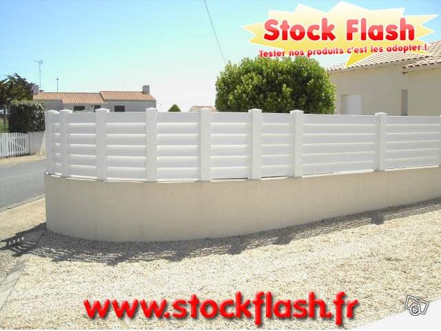 Kit clôture PVC